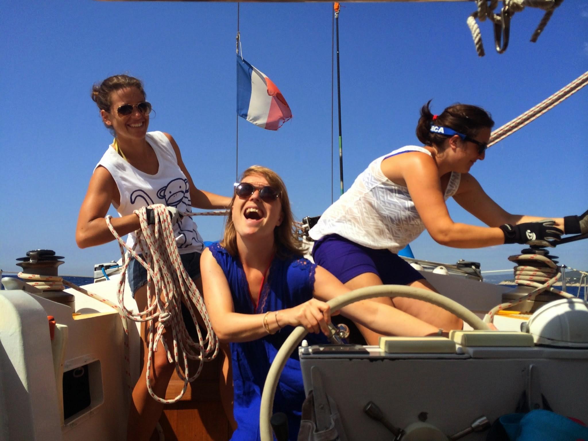Croisière voilier dans les Calanques. Des clients Skippair 100% ravis