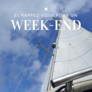 Les croisières de Skippair : la croisière week-end