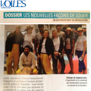 Le magazine Voiles et Voiliers parle de Skippair !