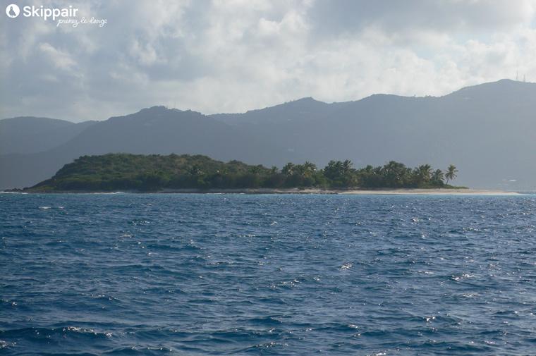Sandy Cay dans les îles vierges Britanniques