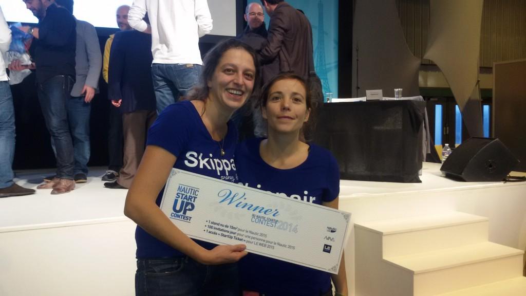 Skippair vainqueur du Nautic Startup Contest (1)
