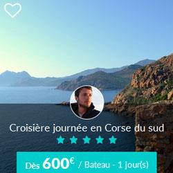 Miniature de l'offre de croisière journée Skippair en Corse du sud avec Frédéric