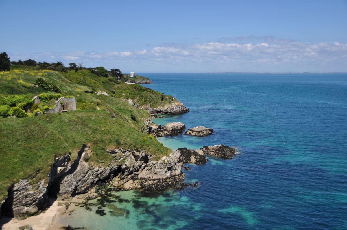 La côte de Belle-Ile-en-Mer