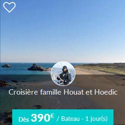 Miniature de l'offre de croisière Skippair à Houat et Hoëdic avec Pierre