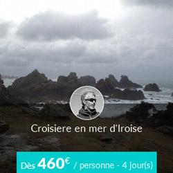 Miniature de l'offre de croisière voilier Skippair en mer d'Iroise avec Yann