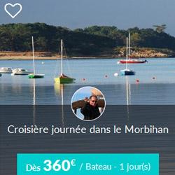 Miniature de l'offre de croisière journée Skippair dans le Morbihan avec Jean-Philippe