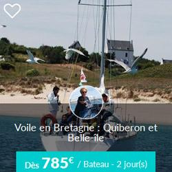 Miniature de l'offre de croisière Skippair à Quiberon et Belle-Ile avec Alain