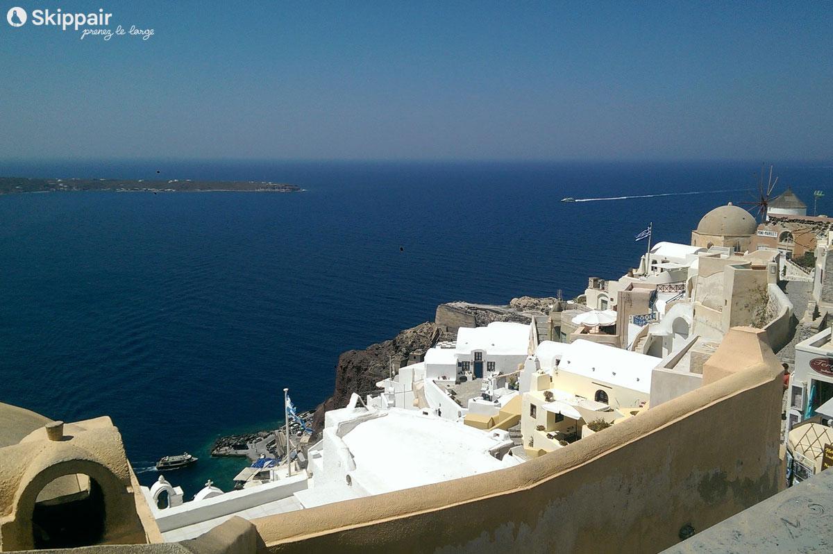 Grand bleu sur les Cyclades - Skippair