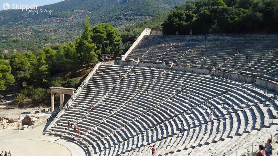 Peloponnese Amphitheatre d'Epidaure