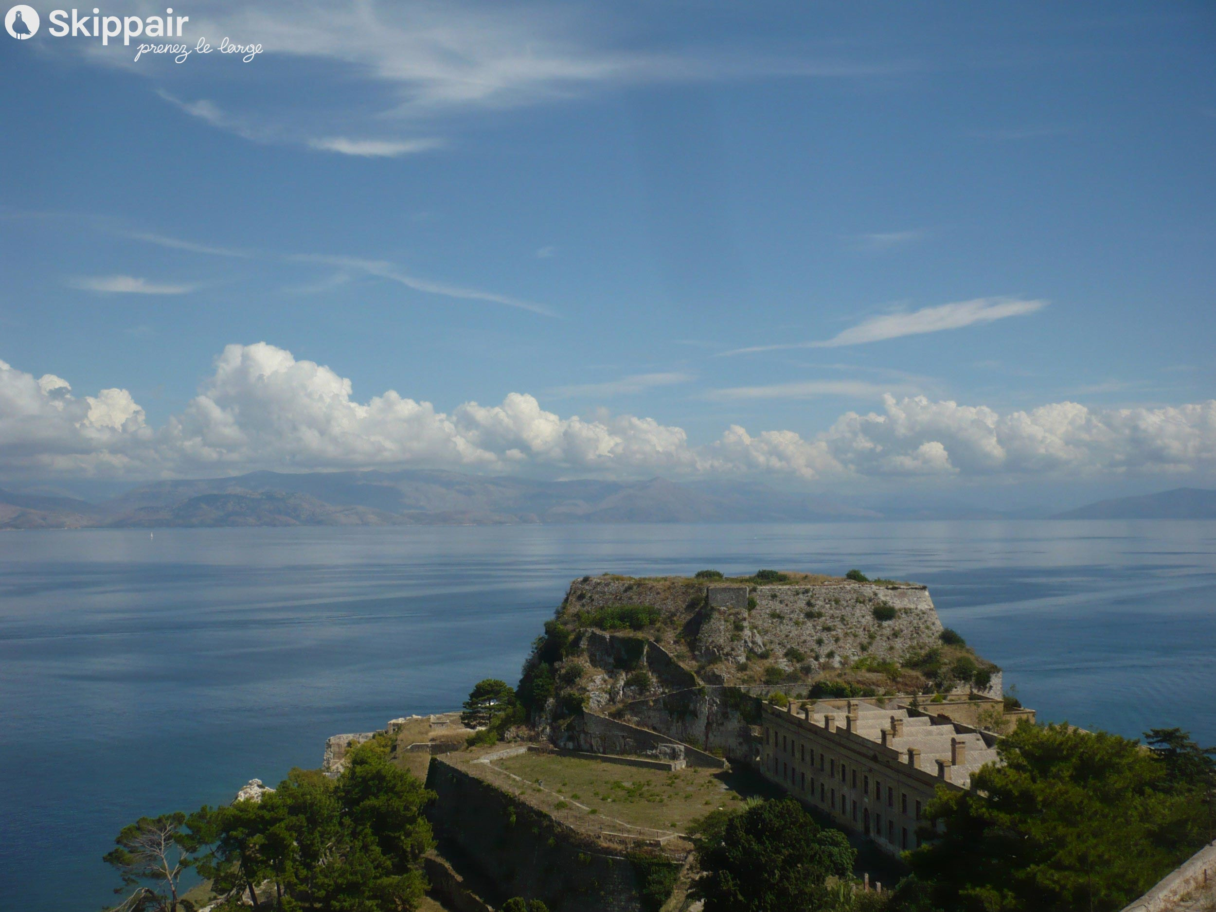 Old Fortress de Corfou - Skippair