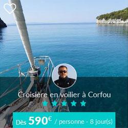 Miniature de l'offre de croisière Skippair à Corfou avec Silvio