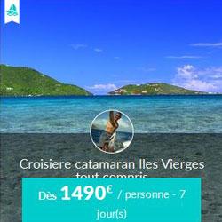 Miniature de l'offre de croisière Skippair avec Pascal vers les îles Vierges