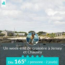 Miniature de l'offre de croisière Skippair avec Pascal à Jersey et Chausey
