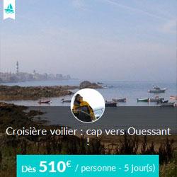 Miniature de l'offre de croisière Skippair avec Jean à Ouessant