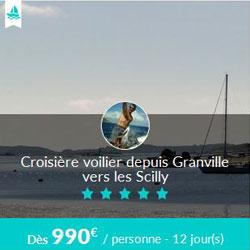Miniature de l'offre de croisière Skippair avec Pascal aux îles Scilly