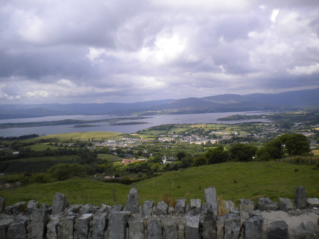 Panorama sur Bantry Bay, dans l'ouest de l'Irlande
