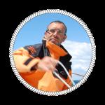 Photo d'Eric, skipper professionnel dans le Finistère