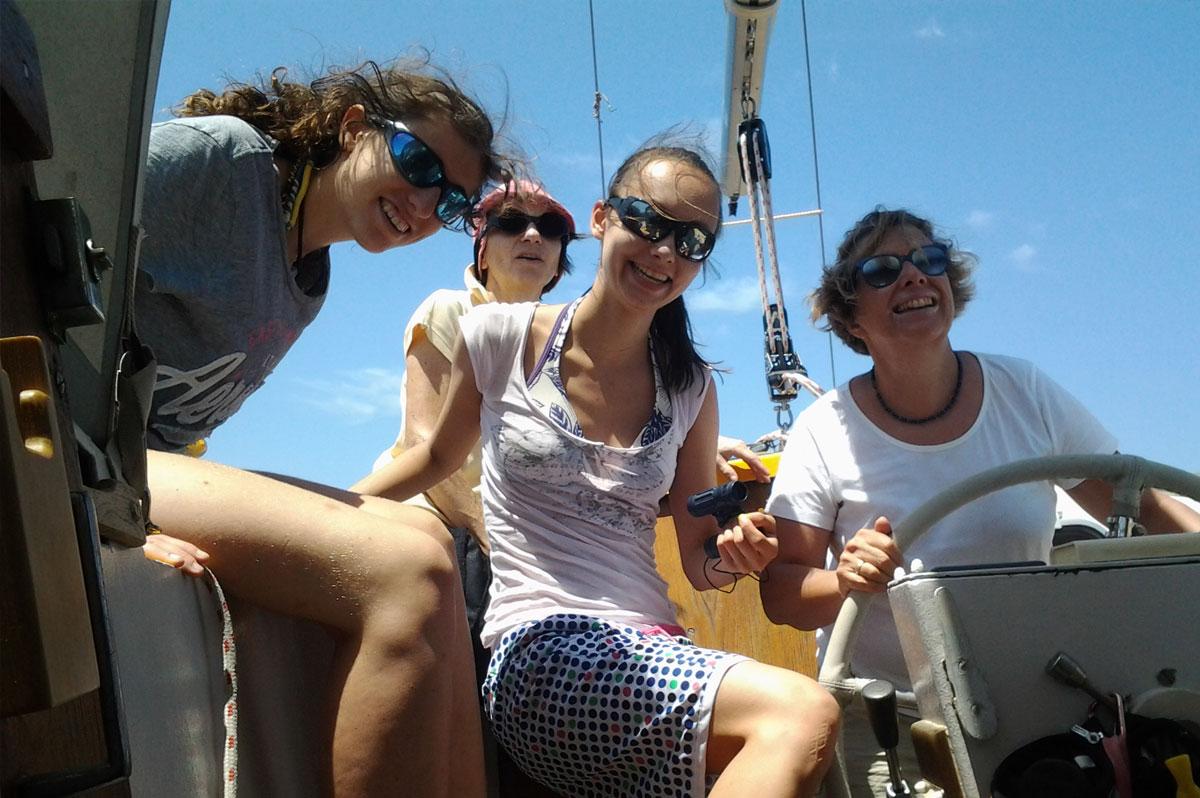 Une journée en mer, un moment à partager