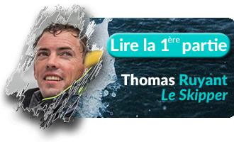 Bouton Un tour dans le monde de Thomas Ruyant, Partie 1 - Skippair