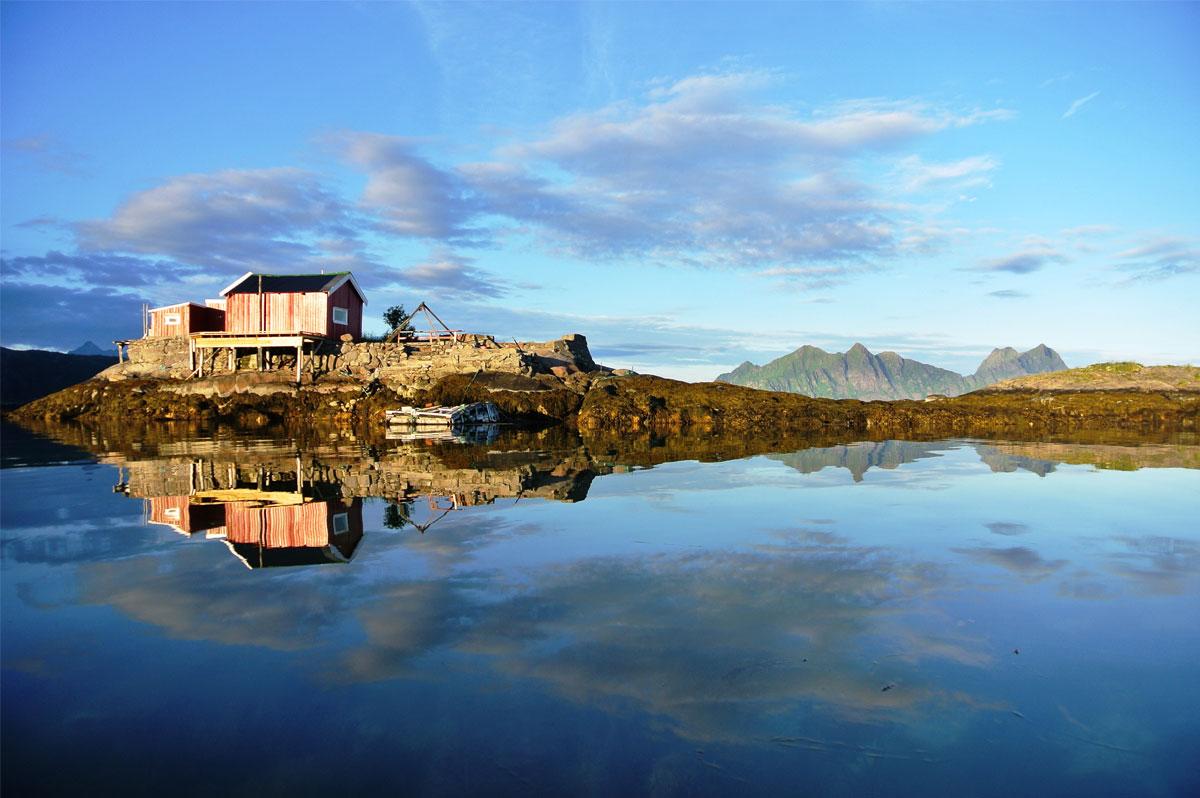 Le skipper du Vendée Globe Thomas Ruyant a beaucoup apprécié sa croisière en Norvège cet été - Kristian Nashoug (www.lofoten.info / Vågan)