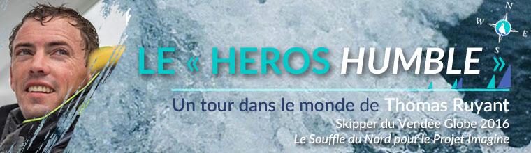 Bandeau 760px Un tour dans le monde de Thomas Ruyant, le héros humble - le Vendée Globe par Skippair