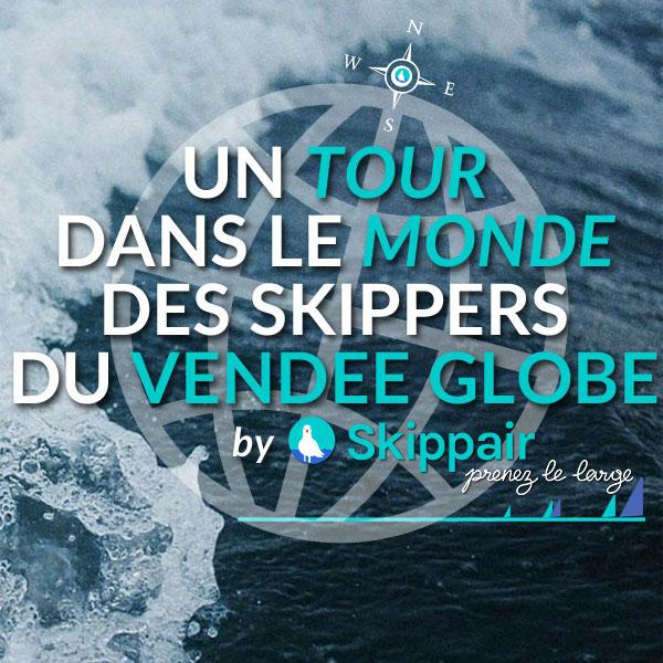 Un tour dans le monde des skippers du Vendée Globe 2016-2017